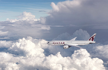 Qatar Air Cargo has suspended all services between Qatar and the UAE, Saudi Arabia, Bahrain and Egypt.