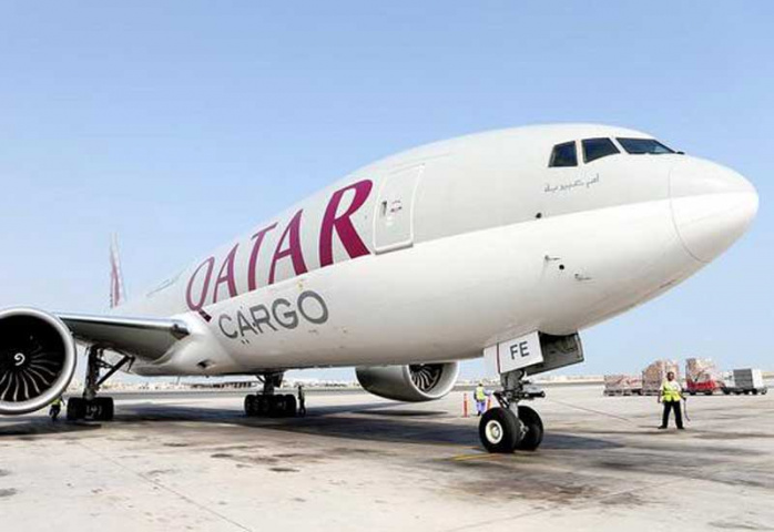 The Doha-based airline increased cargo volumes from 1,104,000 tonnes in 2014 to 1,520,000 tonnes in 2015.