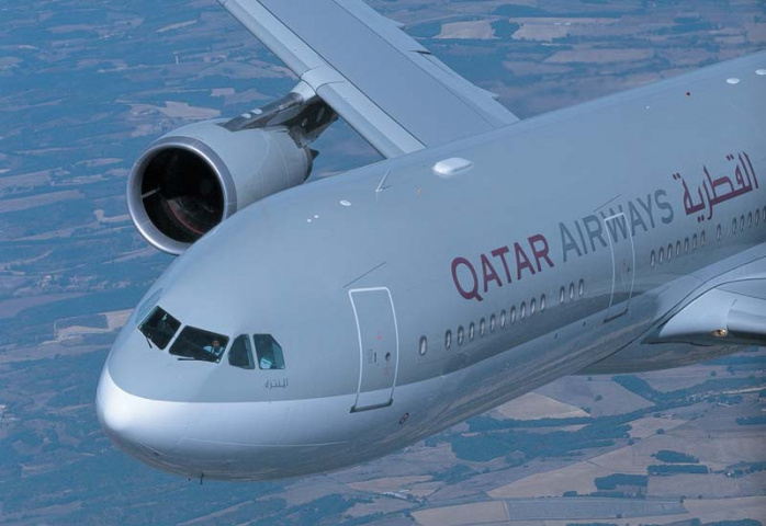 Qatar Airways will upgrade to the A330 (pictured) on its Lagos frequencies.