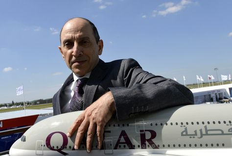 CEO of Qatar Airways Akbar Al-Baker. (AFP/Getty Images)