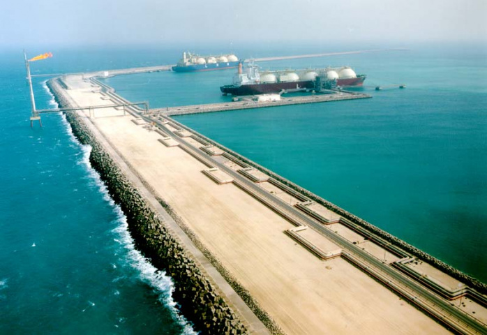 Ras Laffan Port is playing host to the launch of the Qatargas 2 LNG project.