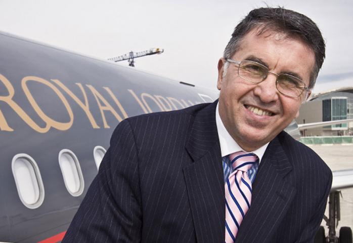 Royal Jordanian CEO Hussein Dabbas