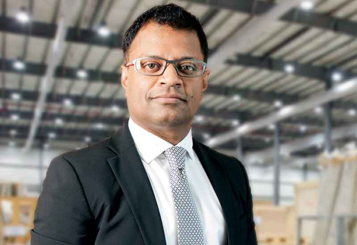 Ranjeev Menon, group CEO, Gulf Warehousing Company.