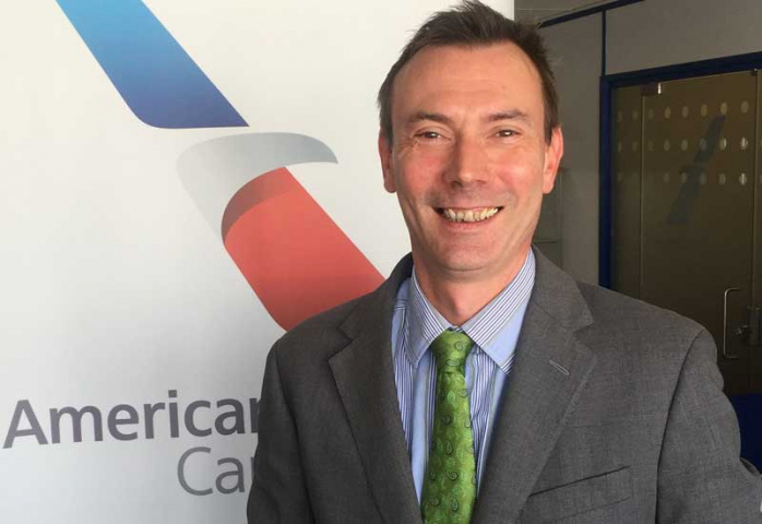 Richard Hartmann, regional sales manager – cargo, South Asia, Middle East and Africa.