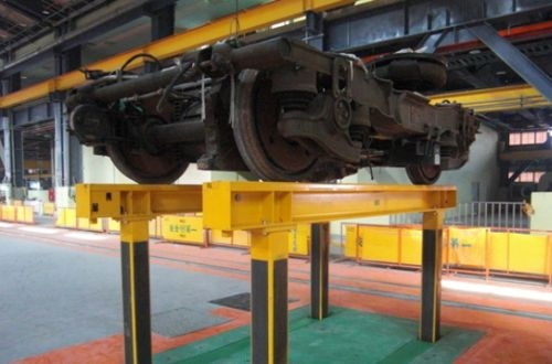 Pfaff-Silberblau chosen to supply train lifting equipment for maintenance workshops for Riyadh Metro.