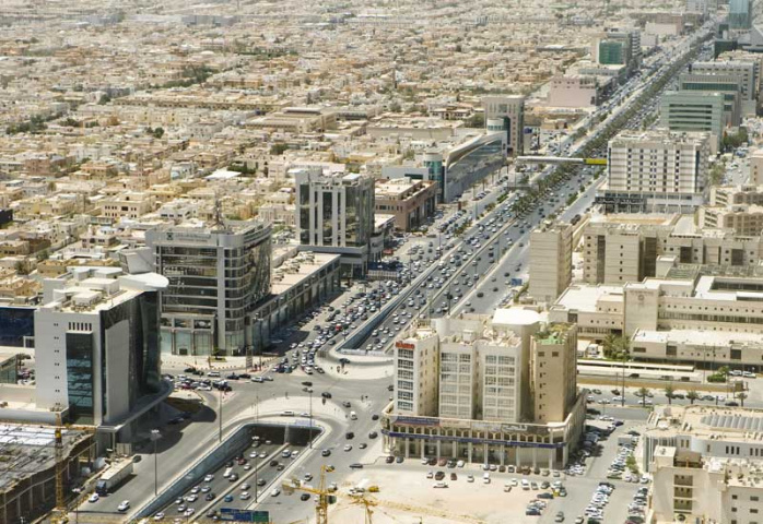 An overview of the city of Riyadh.