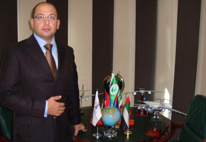 Saleh al Aroud, owner of Rus Aviation