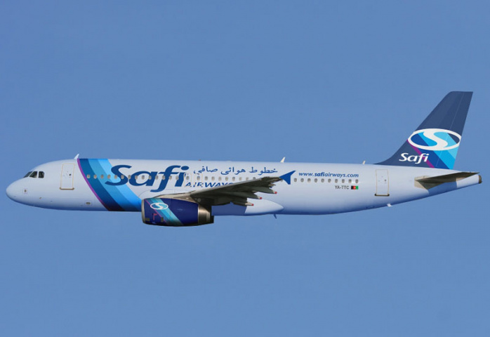 Safi's Kabul-Dubai service continues, despite the EU ban on Afghan airlines.