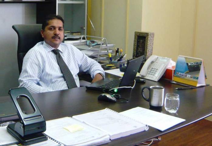 Sanjeeve ST, senior manager at Al Madina Logistics Services SAOC's supply chain division in Oman.