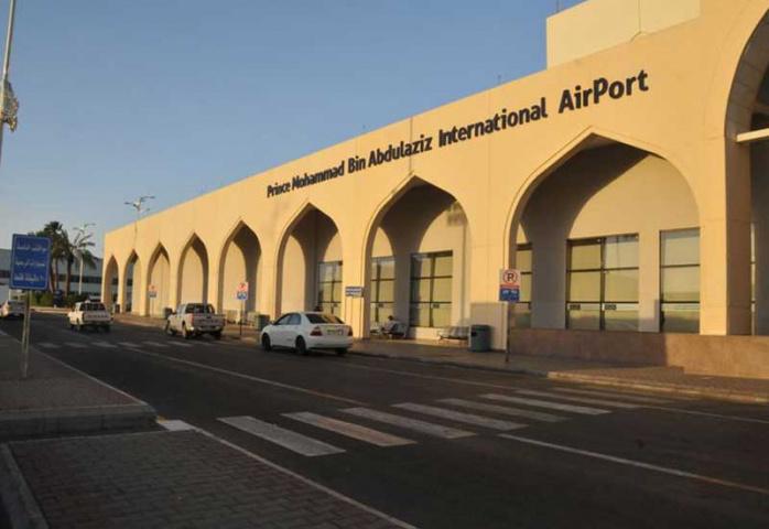 Prince Mohammed Bin Abdulaziz International Airport.
