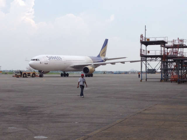 Dubai-bound airliner operated by Shaheen Air evacuated in Pakistan due to alleged bomb threat.