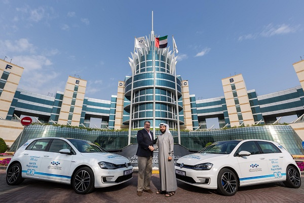 The two Golf GTE models are part of a fleet of 10 that completed over 100,000 km in the United Arab Emirates through the super-hot summer months of 2016.