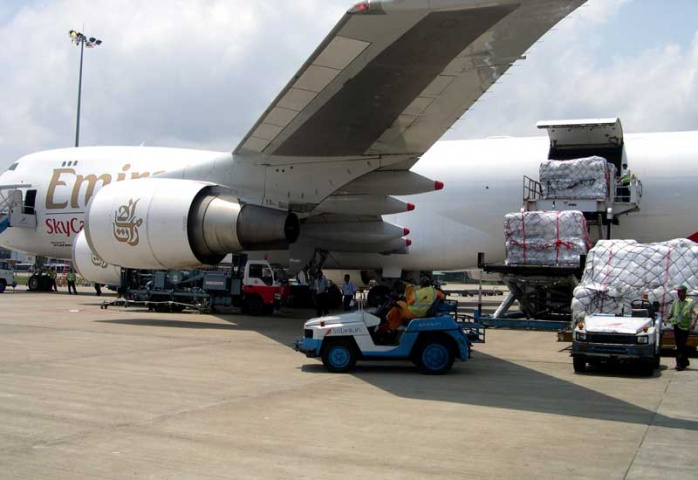 Emirates SkyCargo diverted two jets within 24 hours to fly humanitarian relief to Sri Lanka.