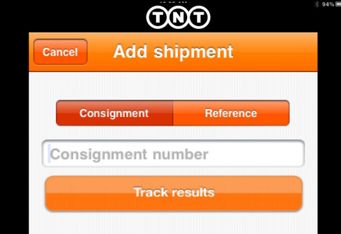 Phone, Tnt express, Tracker applications, Tracking, NEWS