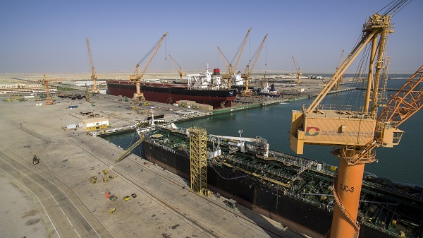 The US $1.5-billion drydock is based in the new maritime and logistics hub of Duqm.
