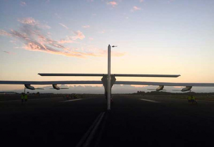 THE BIG PICTURE: Solar Impulse 2 arrives in Hawaii