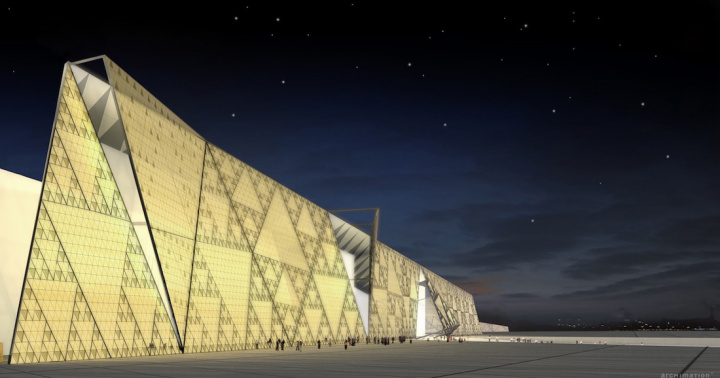 The museum will be one of the biggest in the world, housing more than 100,000 artefacts from all pharaonic periods.