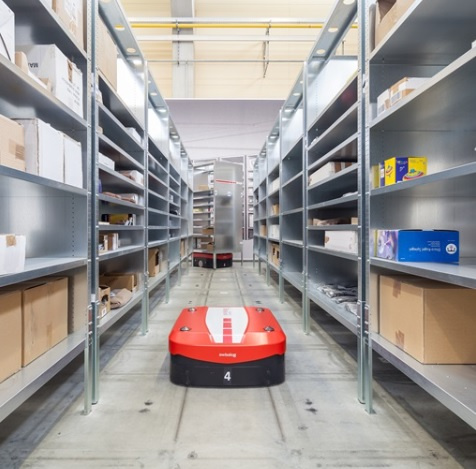 Swisslog's automated storage and goods-to-person order picking system is flexible, scalable, and quickly adjustable to changing demands in warehousing.