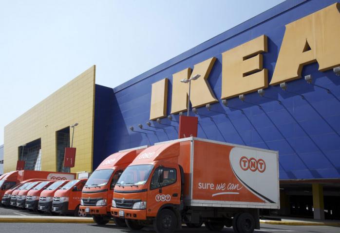 Ikea, Saudi arabia, Tnt express, NEWS