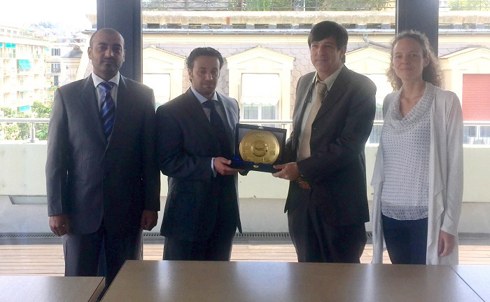 Tasneef signs cooperation agreement with Italian shipping logistics consultancy Logmarin to bring new ideas to the UAE marine industry