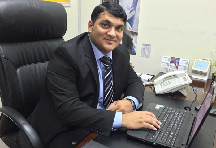Tiby Varghese is the owner of UAE-based Verks Global Logistics.
