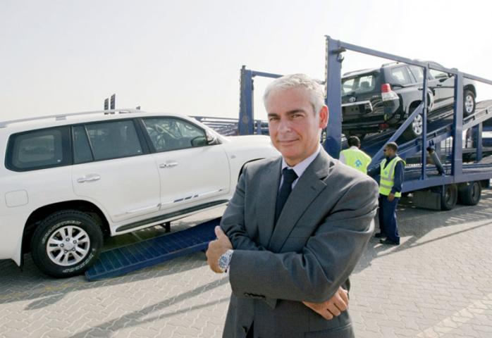 Tom Nauwelaerts, managing director of Al-Futtaim Logistics.