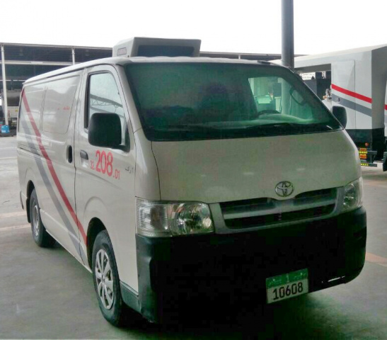 The Hiace remains in service with AJC.