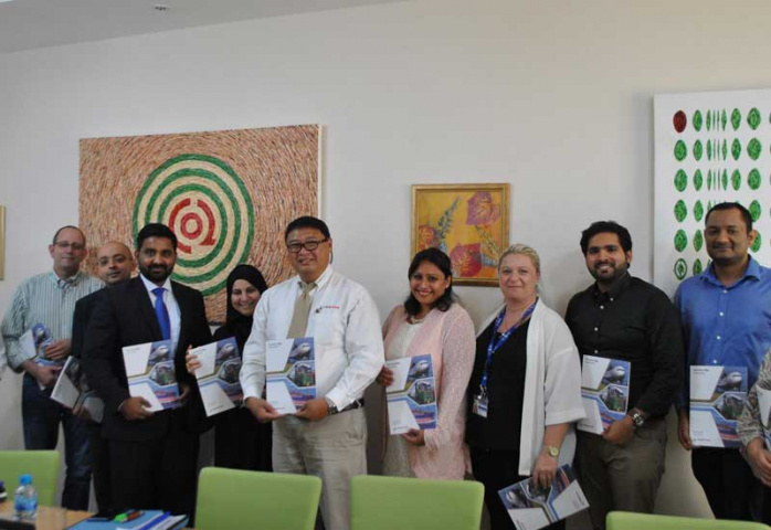 The latest Tristar Sustainability Reportpictured at a three-day sustainability reporting training course in Dubai.