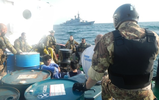 EU naval engineers assist Alaa crew