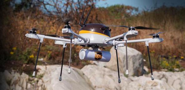 Ups, Drones, Delivery