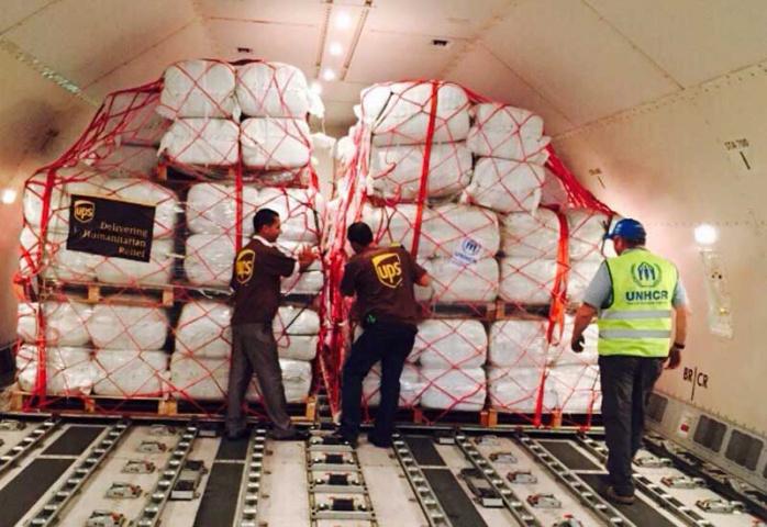 Csr, Humanitarian aid, Migrants, Ups, NEWS