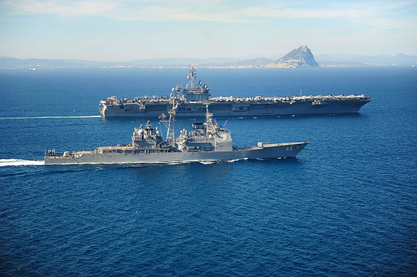 GCC nations have joined the US in naval operations in the Arabian Gulf