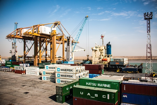 Umm Qasr, is one of four commercial ports in Iraq, but is the country's only deepwater container terminal.