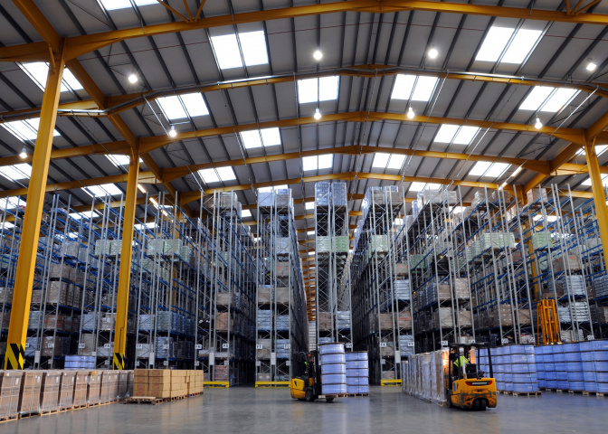 VNA racking requires a very flat floor to operate efficiently and safely.