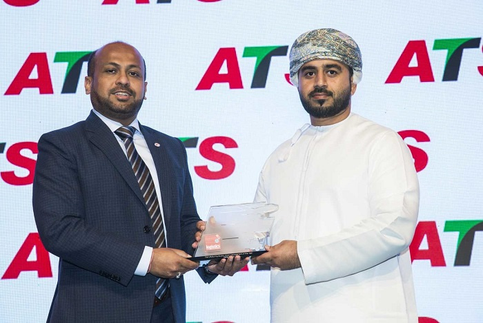 Mattar Albadi, chief of port operations, Vale Oman, collected the award.
