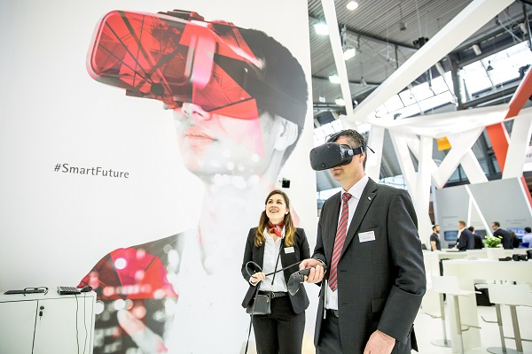 The Virtual Reality 3D warehouse animation will be showcased by Swisslog, one of the world's leading suppliers of robot-based and data-driven intralogistics solutions.