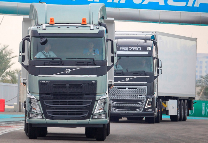 Fleet management, Volvo trucks, NEWS