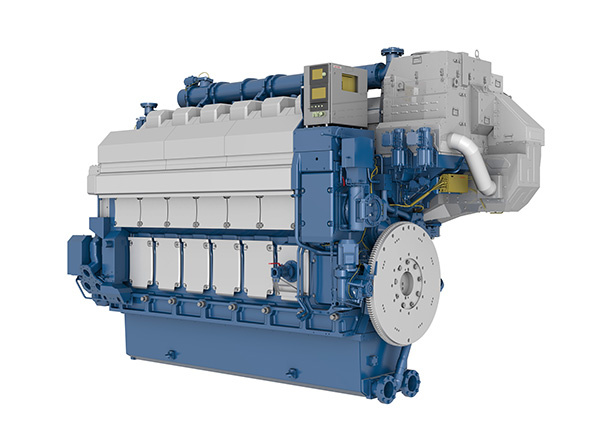 Wärtsilä's dual-fuel engines capable of operating on both liquefied natural gas (LNG) and low sulphur diesel fuel
