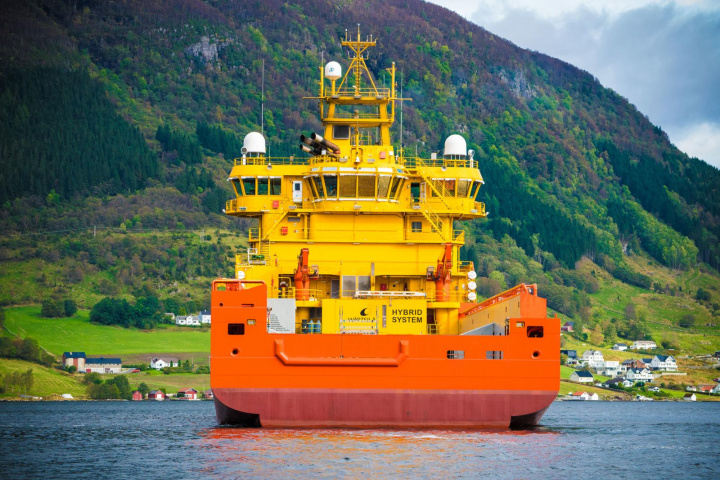 BIG PIC: World's first hybrid offshore vessel