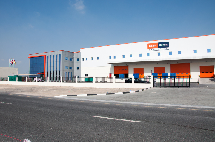 Besides freight forwarding and customs services, Weiss-Röhlig UAE will now offer logistics and project services out of its new terminal.
