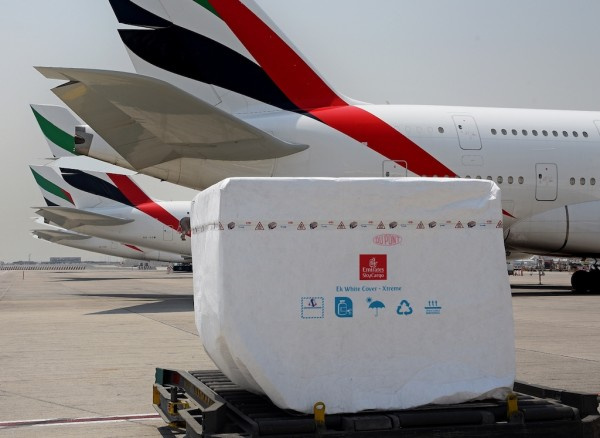 Emirates SkyCargo is the first air cargo carrier globally to be introducing DuPont's Tyvek Xtreme W50 material in its White Cover protection solutions.