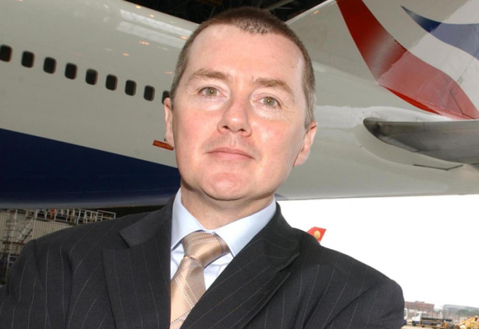 BA CEO Willie Walsh has set an ambitious target to cut CO2 emissions by 50% by 2050