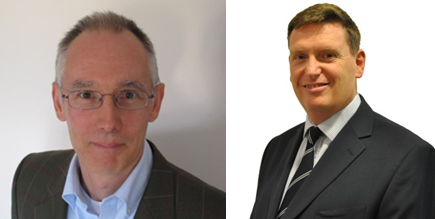 Jake Storey (left), vice chairman of the Maritime Anti-Corruption Network (MACN) and Howard Shaw, head of Mazars Anti-Bribery and Corruption Services