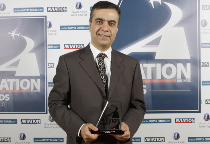 Last year's awards winners included Adel Ali, CEO of Air Arabia.