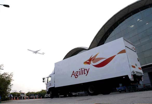 Agility Logistics lorry