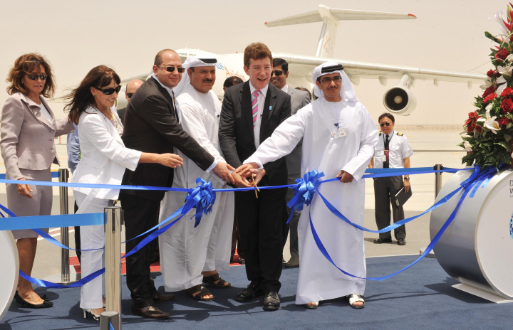 The now-operational Al Maktoum International Airport is a part of Dubai South.
