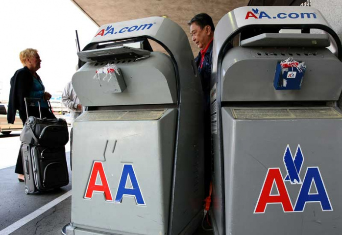DFW is the home of American Airlines (AFP/Getty).