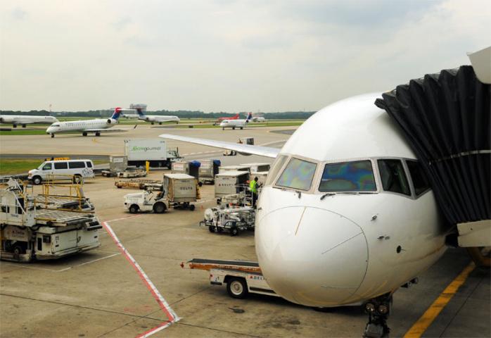 Busiest by passengers and by number of flights -- Atlanta (Karen Bleier/AFP/Getty Images).