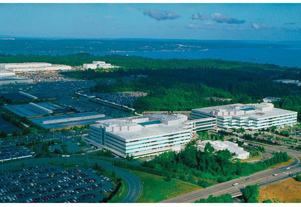 DOWNING TOOLS: Aircraft production halts at Boeing HQ.