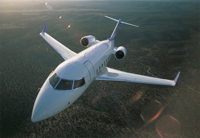 Bombardier's Challenger 605.
